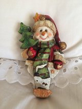 Snowman Stocking hanger in Camp Lejeune, North Carolina