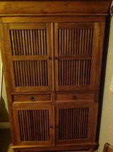 Teak Asian-style Armoire in 29 Palms, California