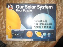 New Solar System Floor Puzzle in Beaufort, South Carolina