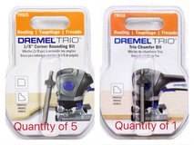 Dremel Trio bits (quantity of 6) in Shorewood, Illinois