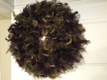 Feather wreath in Glendale Heights, Illinois