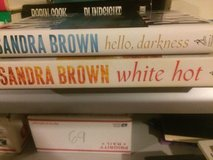 Lot Sandra Brown mystery books in Morris, Illinois