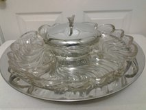 Vintage Crystal Lazy Susan in Eglin AFB, Florida