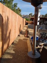 Wood Fencing in Yucca Valley, California