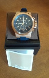 Michael Kors Mens Dylan Blue Watch in Conroe, Texas
