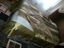 """Excellent curtains set"""" Green Gold Antik """"+bed cover+table cover. in Ramstein, Germany"""