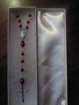 Red Glass Rosary in Altus, Oklahoma