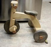 Handmade Wooden Tricycle in Beale AFB, California
