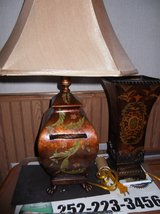 TABLE LAMP ALSO LIGHTED VASE in Cherry Point, North Carolina