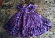 Like NEW! Purple Dress, 12M in Fort Campbell, Kentucky