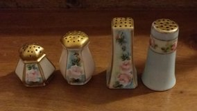 China painted salt and pepper shakers in Wiesbaden, GE