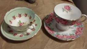 English bone China tea cups in Ramstein, Germany