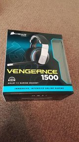 Gaming Headset Corsair Vengeance 1500 USB Connector Dolby 7.1 in Beaufort, South Carolina