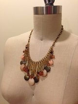 Pink and Brown Beaded Necklace in Los Angeles, California