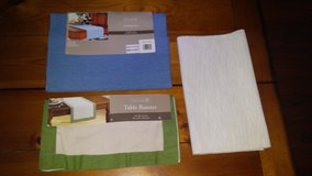 table runners - New in Spring, Texas