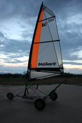 Dirt Boat Blokart in Alamogordo, New Mexico