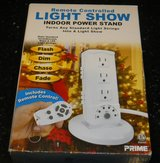 NEW Remote Control Light Show Indoor Power Stand Makes Chaser Christmas Lights in Kingwood, Texas