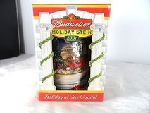 Budweiser Christmas 2001 collectible stein in Morris, Illinois