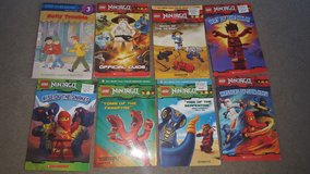 7 Lego Ninjago paperback books in Chicago, Illinois