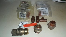 copper and brass fittings lot in Clarksville, Tennessee