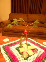 A Charlie Brown Christmas Tree in Joliet, Illinois