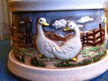 Rare Duck Geese Canister Set from 1985 Hershey mold in Conroe, Texas