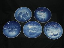 Royal Copenhagen Denmark Bing & Grondahl Christmas Plates in Bolingbrook, Illinois