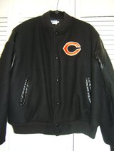 "Men's 80's Vintage Chalk Line ""CHICAGO BEARS"" Bomber Jacket in Tinley Park, Illinois"