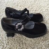 Girls Black Patent Lesther Shoes-Size 12.5 in Naperville, Illinois