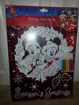 NIP Disney Holiday Foil Poster Mickey & Friends in Camp Lejeune, North Carolina