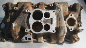 350 Chevy/GM Aluminum 4bbl intake manifold in Alamogordo, New Mexico