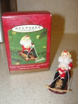 "HALLMARK ""BARBIE & KELLY WINTER FUN"" CHRISTMAS ORNAMENT 2000 in Camp Lejeune, North Carolina"
