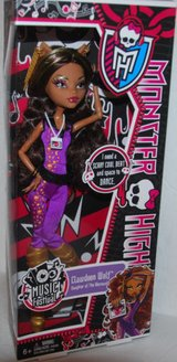 """MONSTER HIGH MUSIC FESTIVAL """"CLAWDEEN WOLF"""" DOLL in Camp Lejeune, North Carolina"""