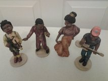 The Musicians Black Figurines 4 pc in Eglin AFB, Florida