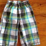Baby/Toddler boy Carter's checked pants size 12 months in Byron, Georgia