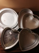 Pie and cake tins in Sandwich, Illinois