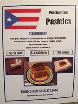 Puerto Rican Pasteles in Beaufort, South Carolina