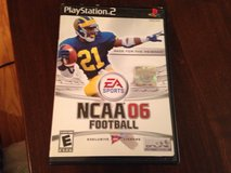 PS 2 NCAA 06 Football in Naperville, Illinois