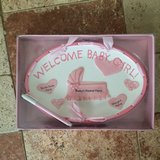 New Welcome Baby Girl Plaque in Batavia, Illinois