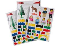 """NEW LEGO WALL STICKERS 3 SHEETS 25"""" X 19"""" in Camp Lejeune, North Carolina"""