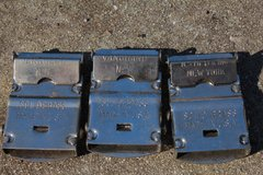 NEAT BUCKLES OF SOME SORT in Beaufort, South Carolina