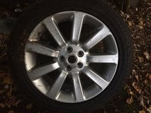Land Rover 20in Spare Alloy Rim & Tire in Fort Belvoir, Virginia