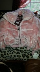 Little Girls Pink Fur Coat in Fort Campbell, Kentucky