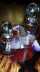 Pink / 2 Piece Perfume Bottle Set in Fort Campbell, Kentucky