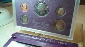 1986-S proof coin set in Camp Pendleton, California