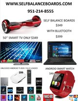 HOLIDAY FLYER SALE BALANCE BOARDS TVS AND MORE in Riverside, California