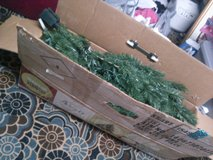 Xmas Tree w / lights in Box! in Alamogordo, New Mexico