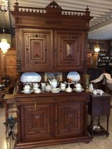 beautiful Henri II dining room hutch - a real classic in Spangdahlem, Germany