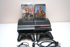Playstation 3 w/2 controllers in Stuttgart, GE
