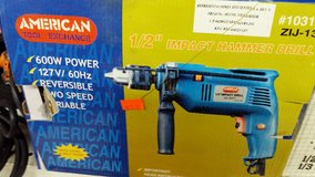 "1/2"" Impact Hammer Drill in 29 Palms, California"